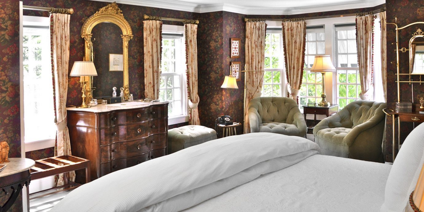 Bedroom at The Charlotte Inn in Martha's Vineyard