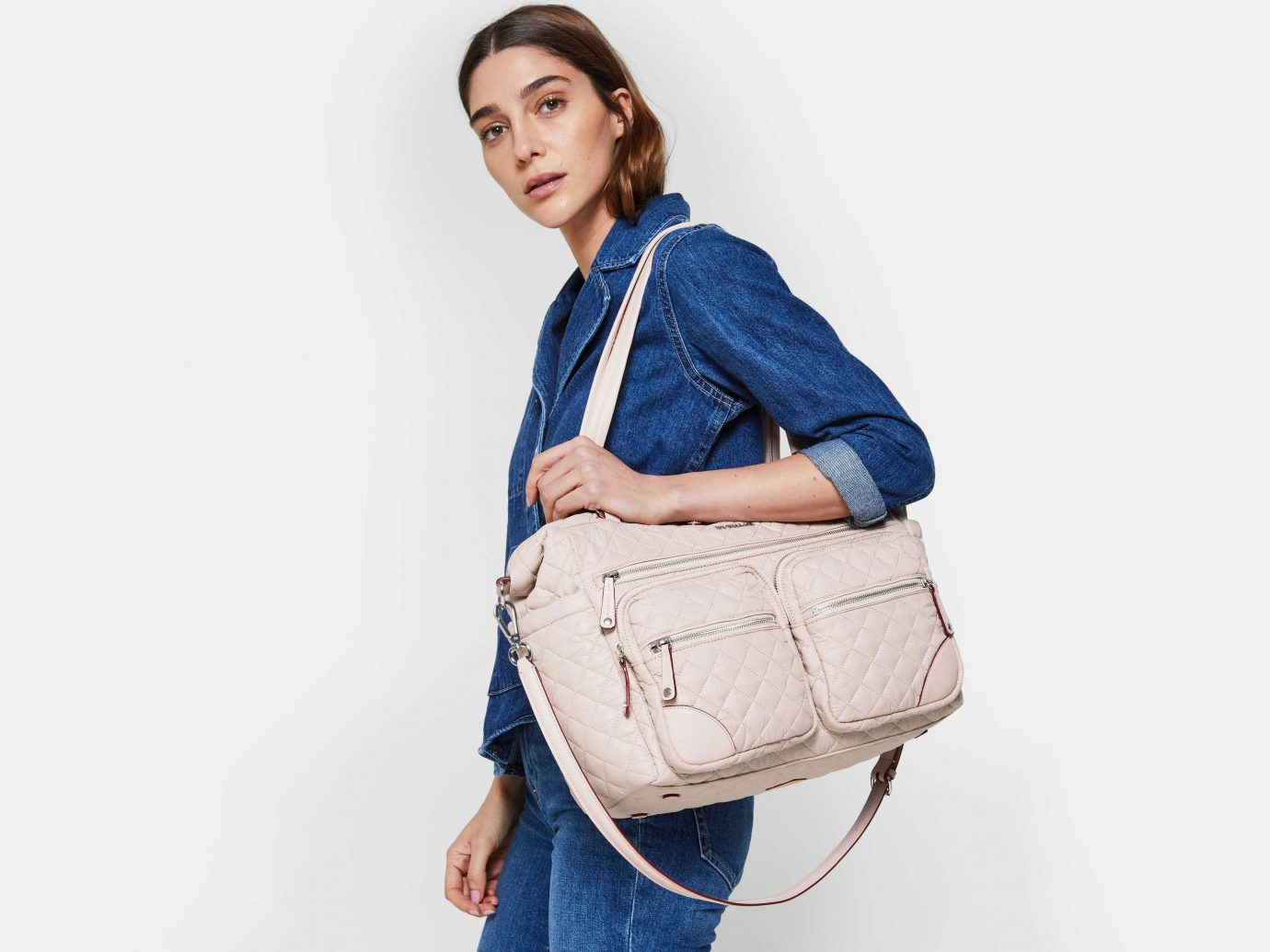 MZ Wallace Crosby Traveler Bag