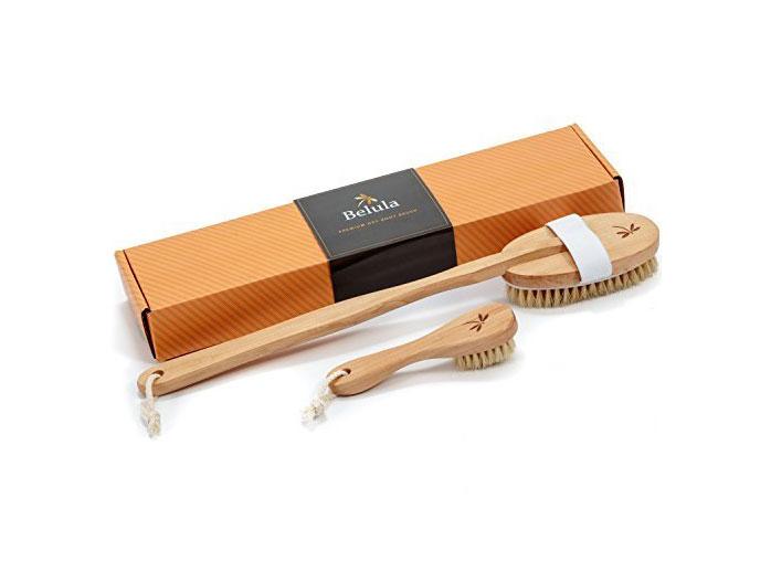 Belula Dry Brushing Body Brush Set