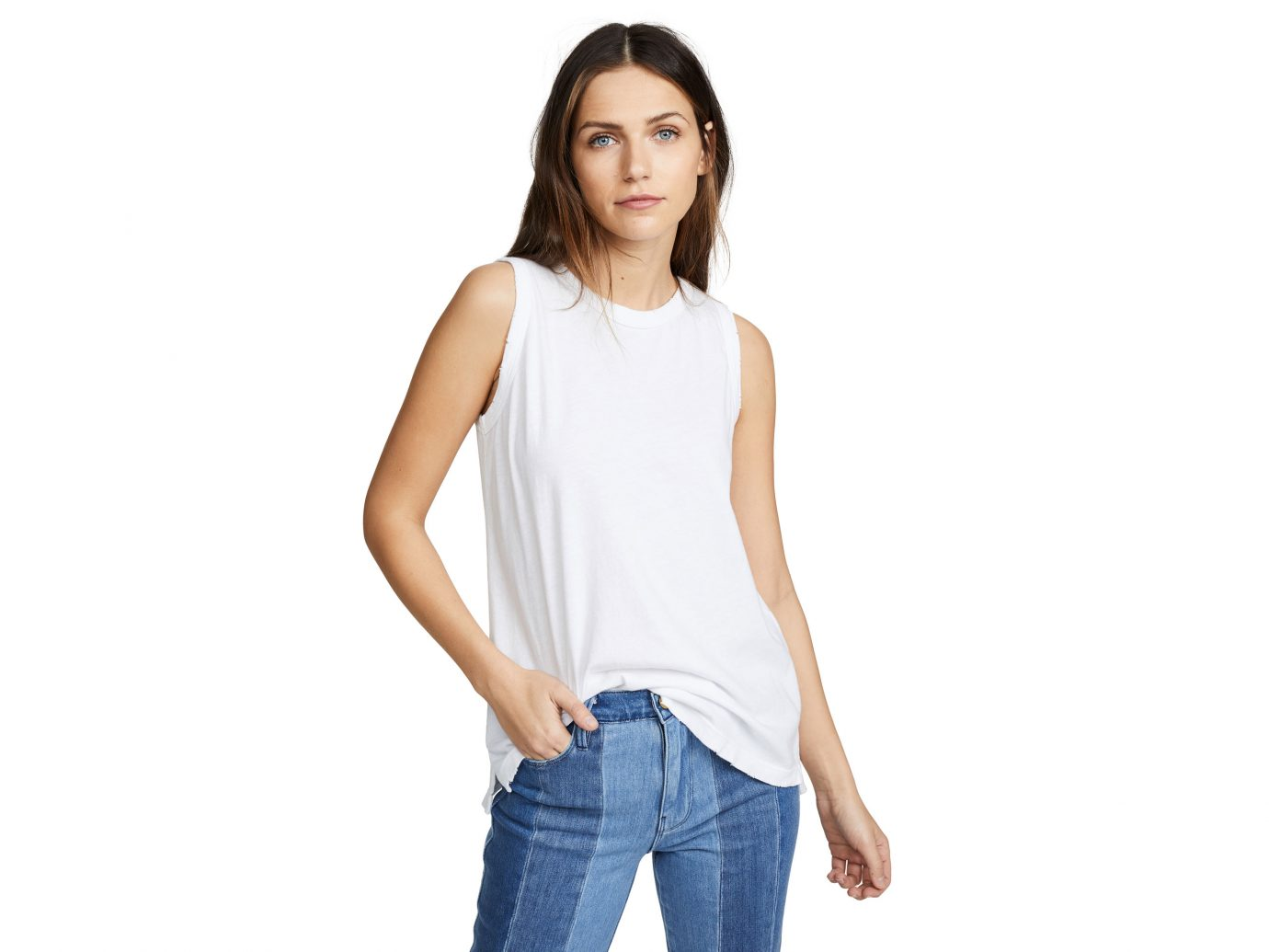 Best muscle tee: Current/Elliott The Muscle Tank