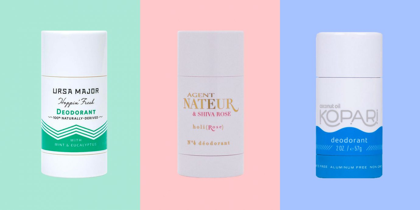 Natural Deodorants of 2019