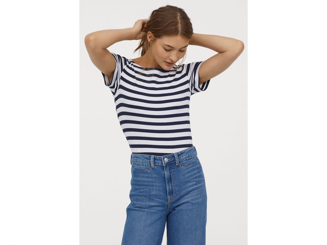 Best boat-neck tee: H&M Boat-Neck T-Shirt