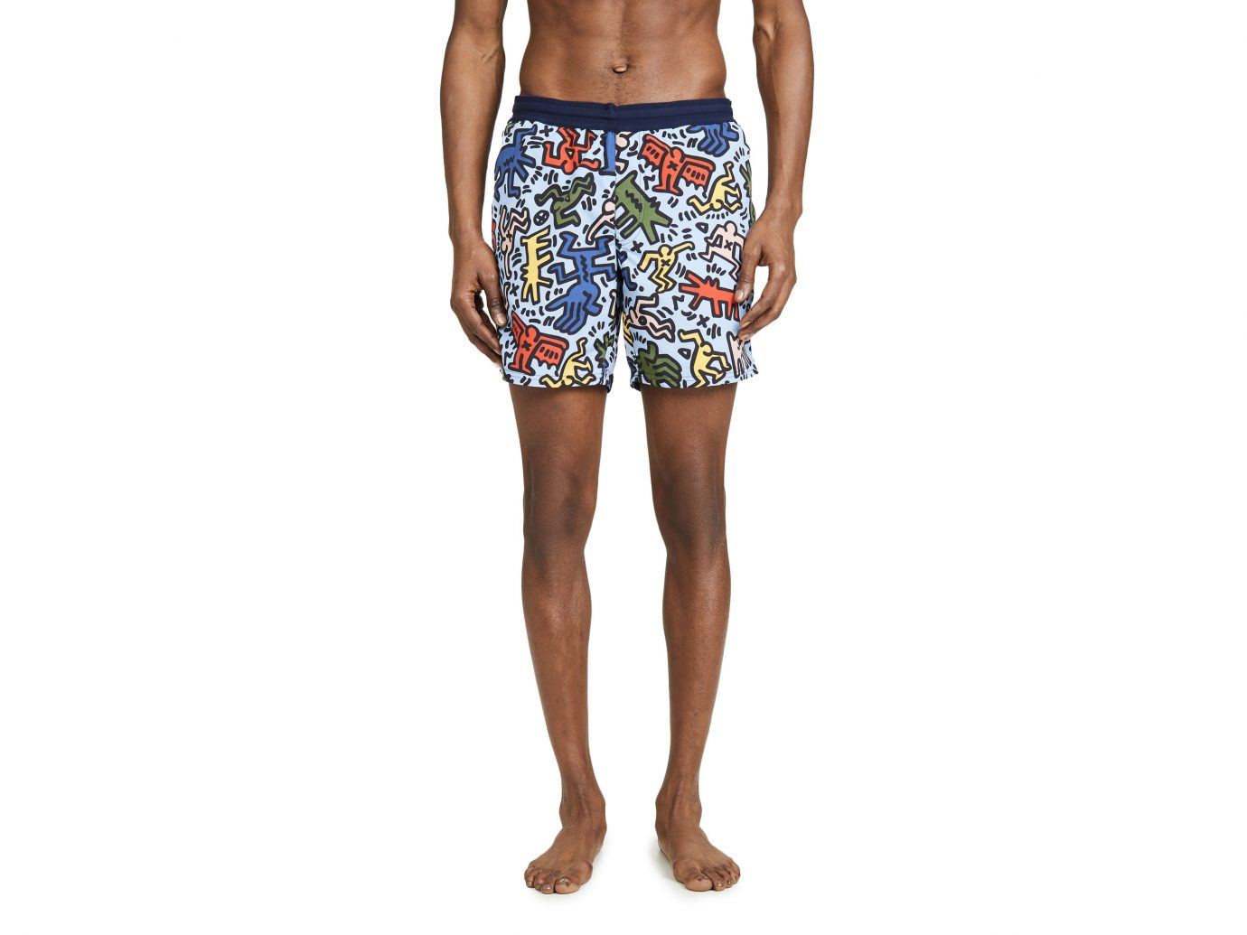 Lacoste x Keith Haring Boardshorts