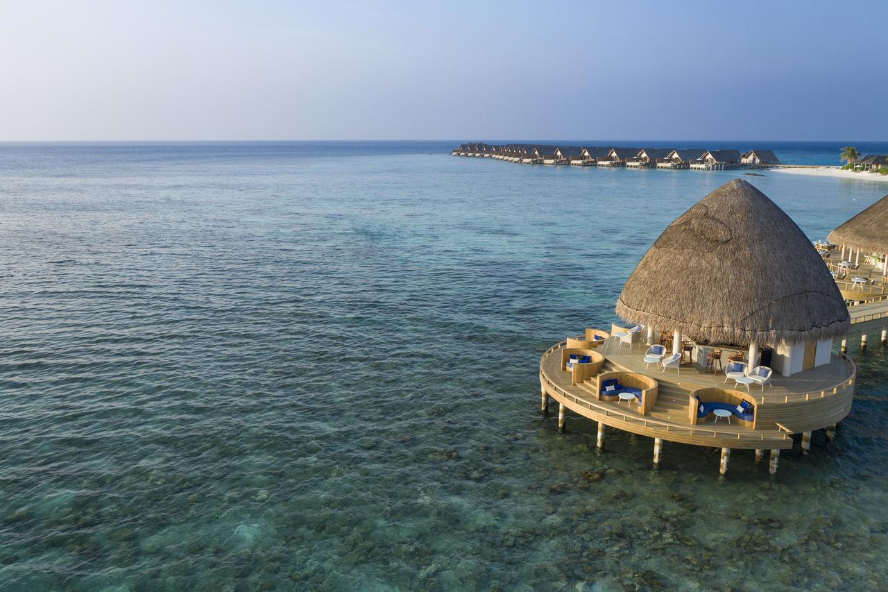 Overwater bungalow at Faarufushi Maldives