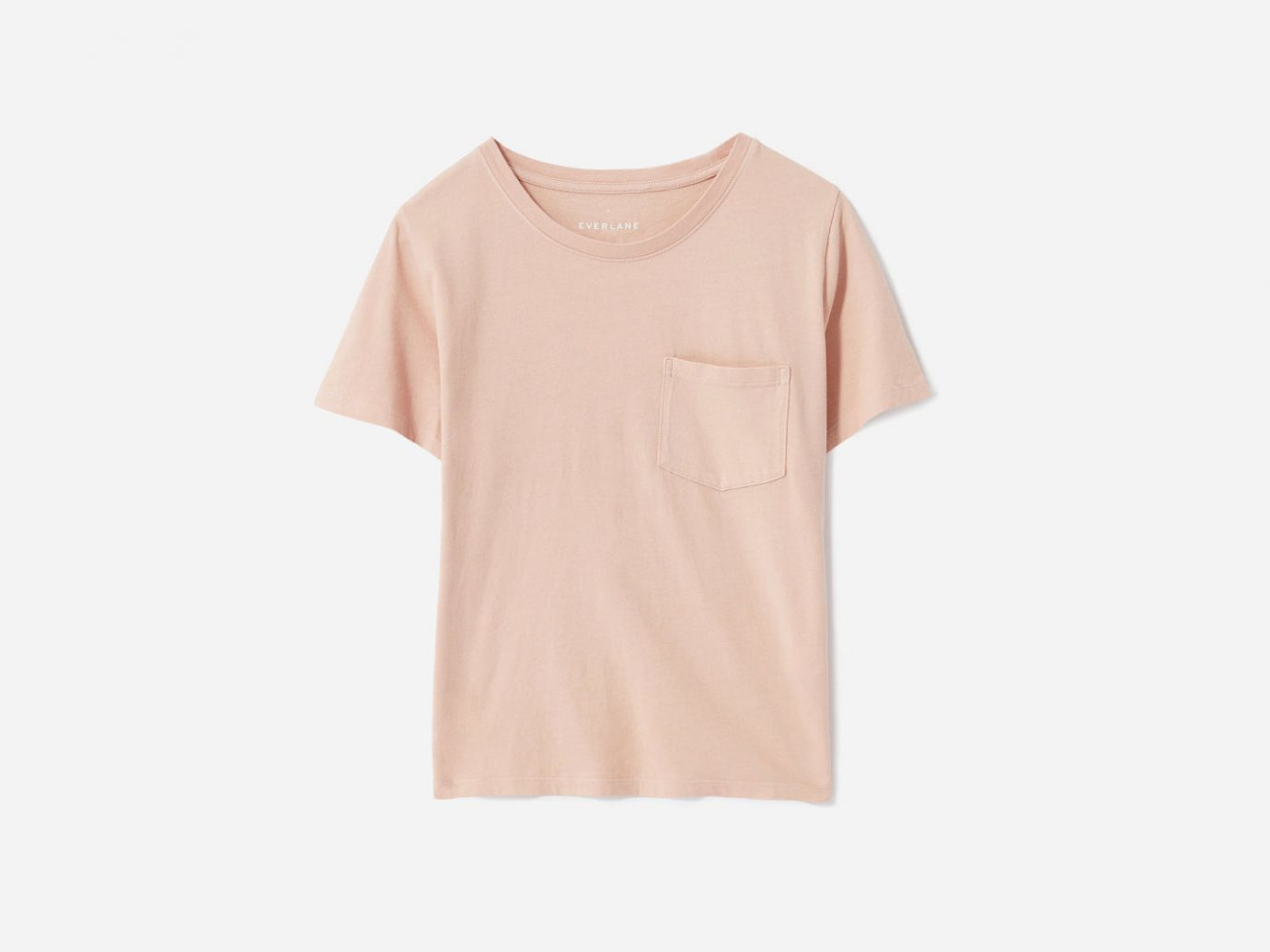 Everlane Cotton Box-Cut Pocket Tee