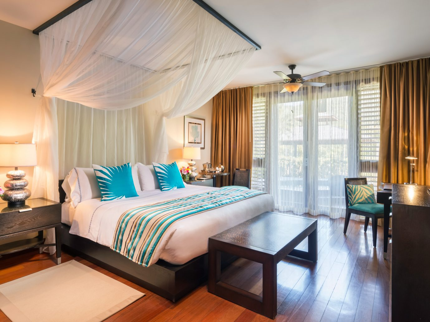 Bedroom at Marigot Bay Resort & Marina