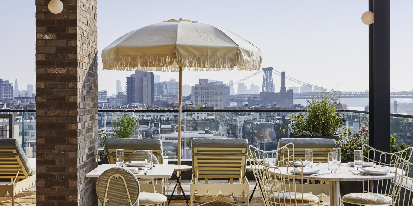 View from Summerly at The Hoxton Williamsburg