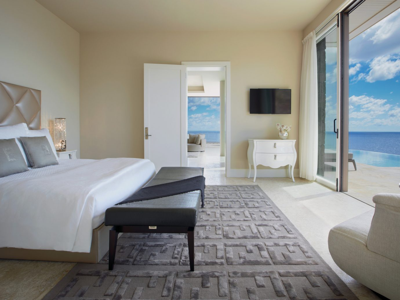 Bedroom at Oil Nut Bay