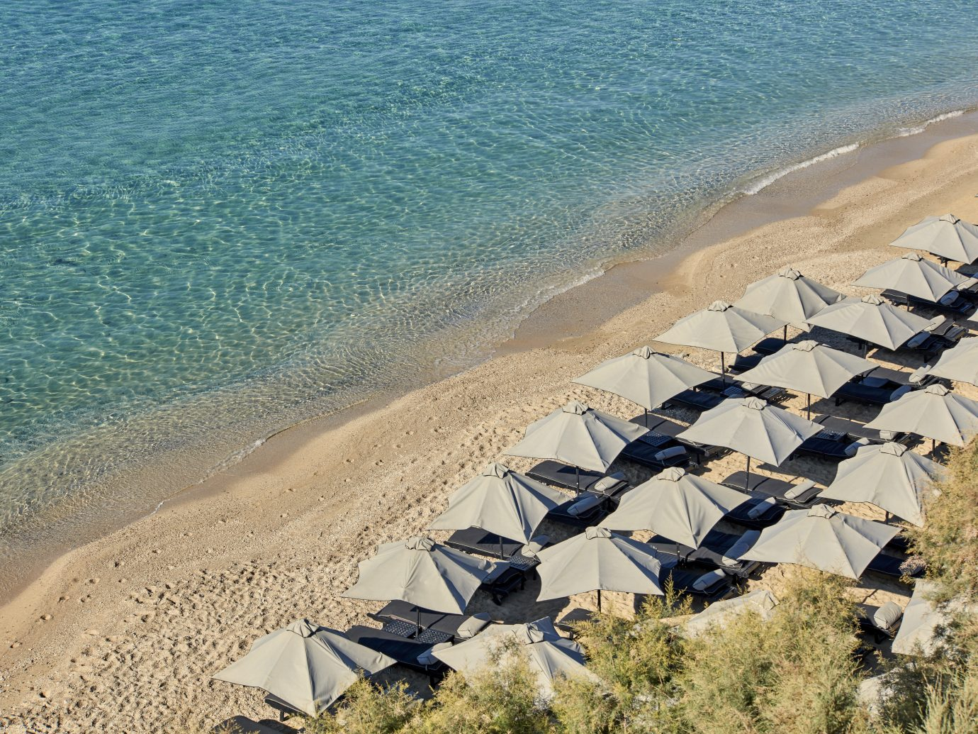 beach at Myconian Villa Collection