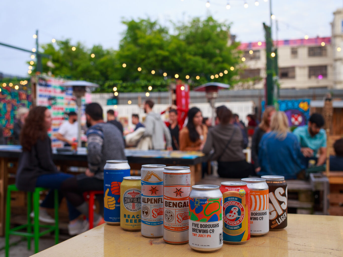 Brooklyn Beer Garden in Bushwick