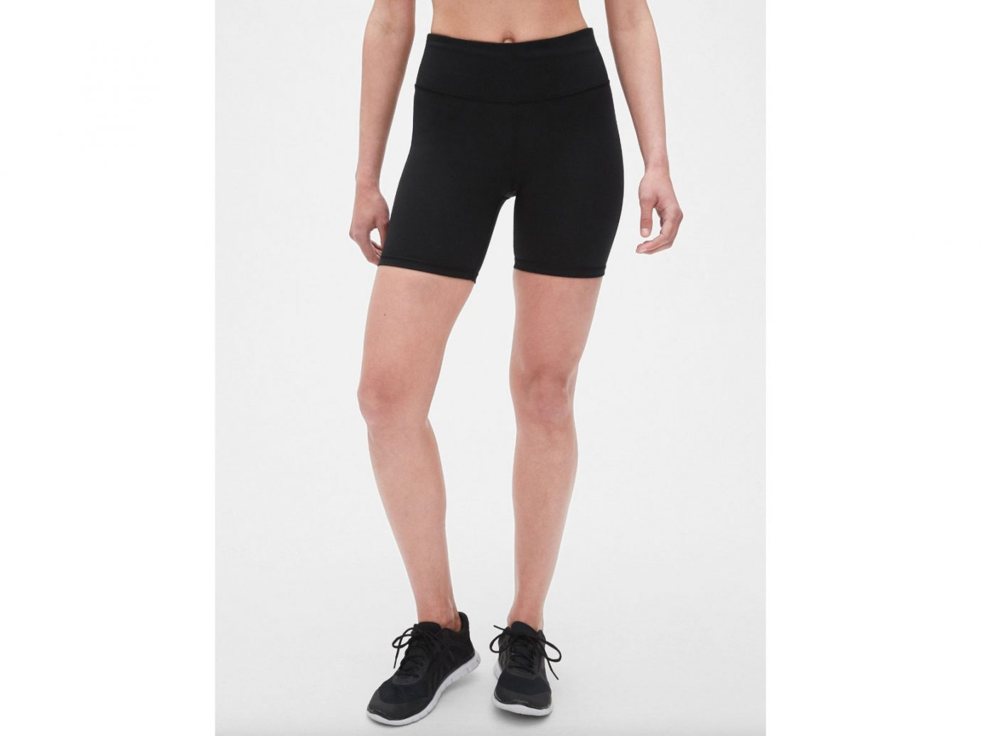 """GapFit High Rise 7"""" Blackout Bike Shorts"""