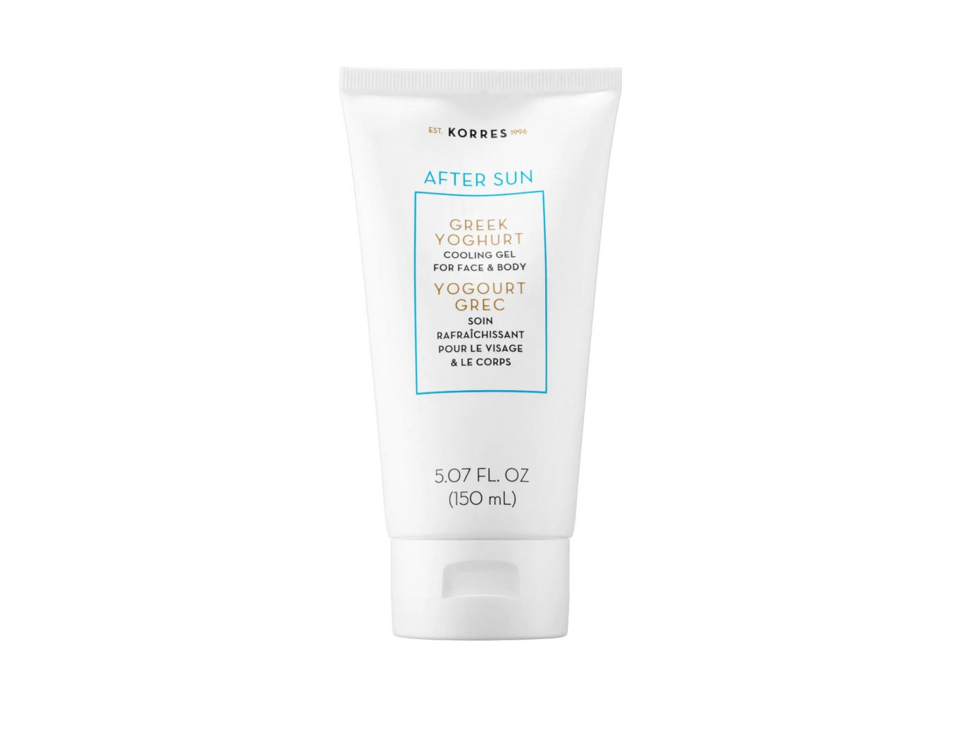 Korres After Sun Greek Yoghurt Cooling Gel for Face and Body