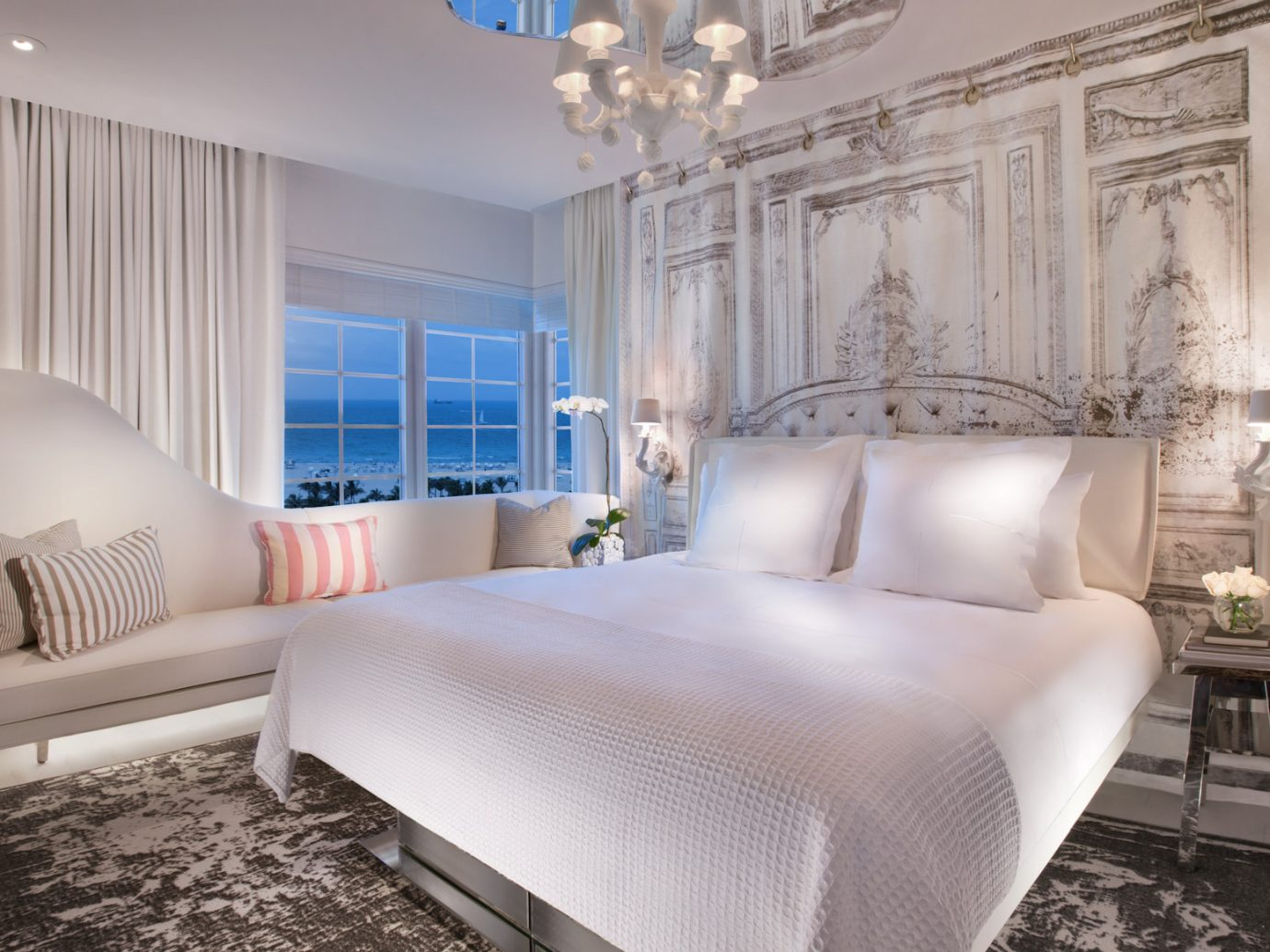 Guestroom at SLS South Beach, Miami Beach, FL