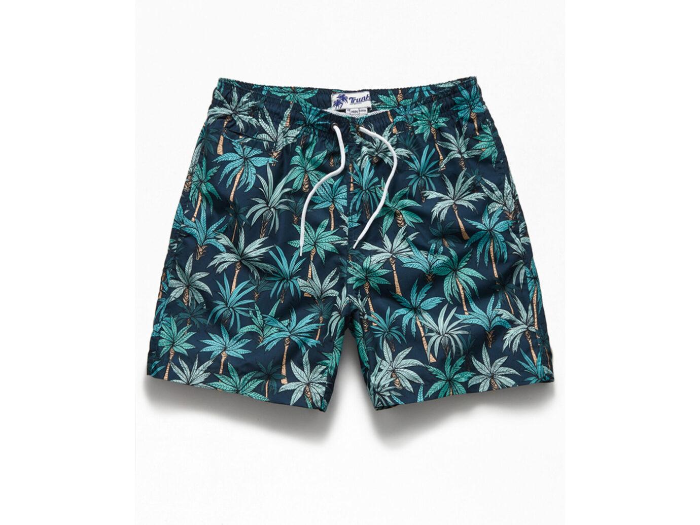 Trunks Surf & Swim Jungle Palm Trees Swim Trunks