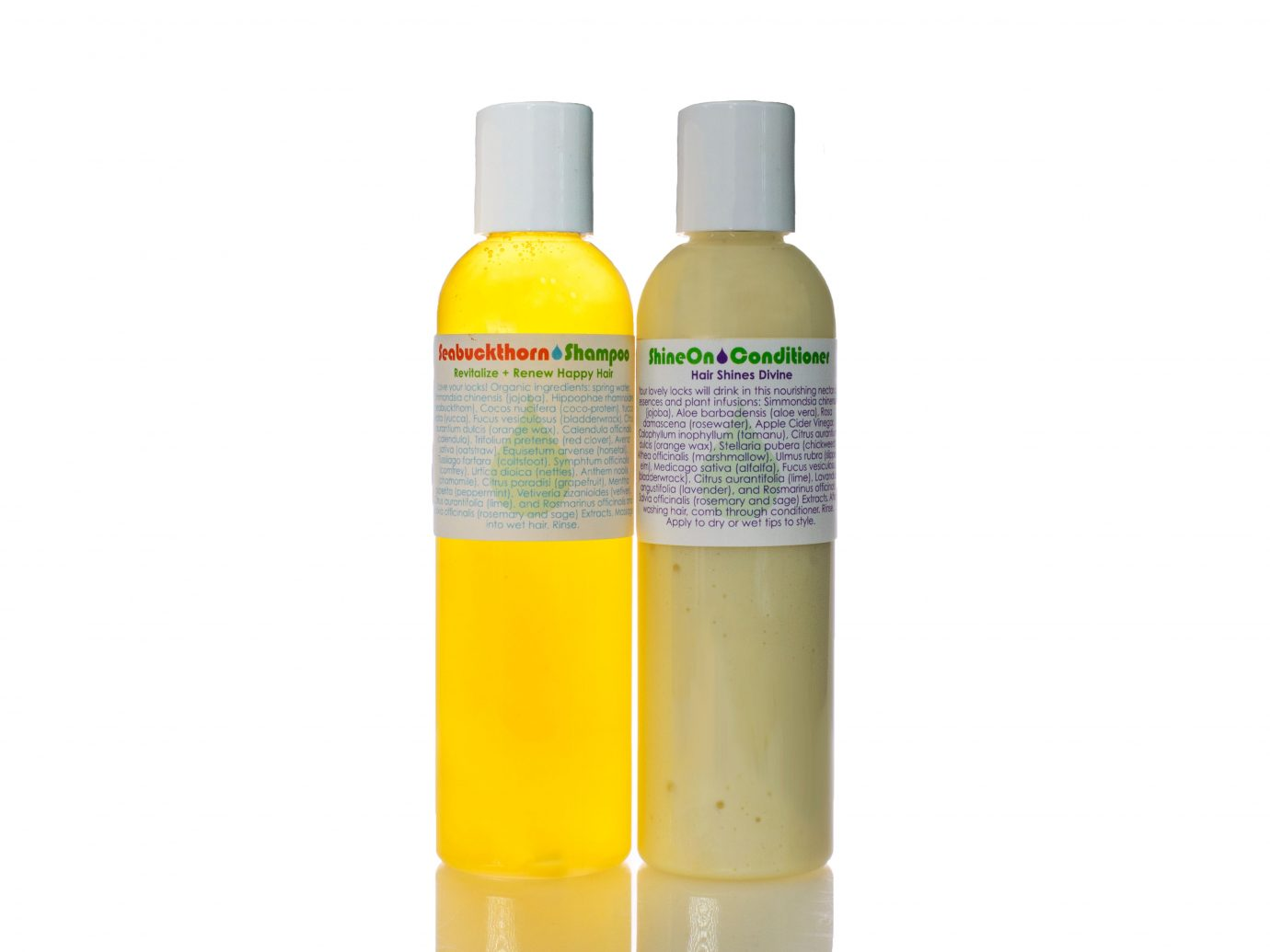 Living Libations Seabuckthorn shampoo + conditioner