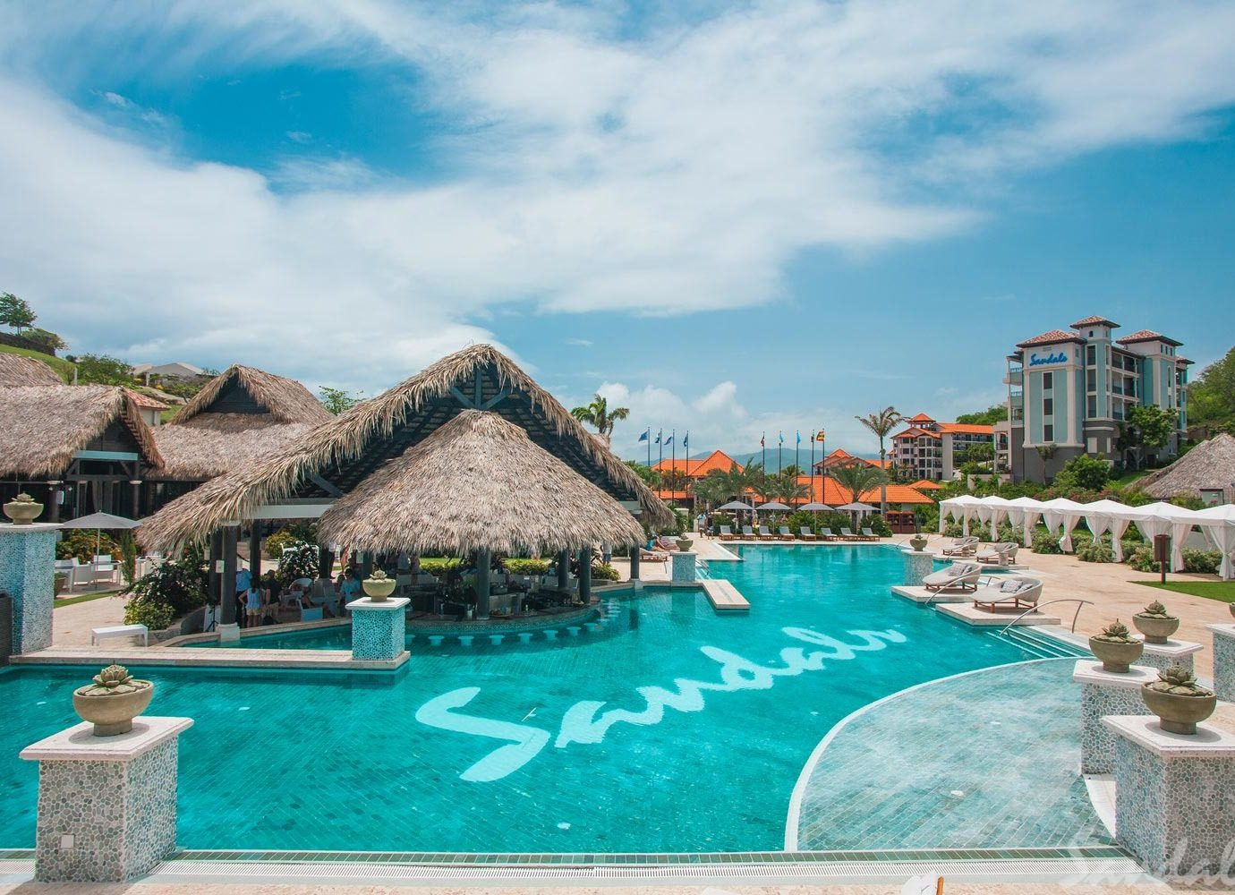 Pool at Sandals Grenada
