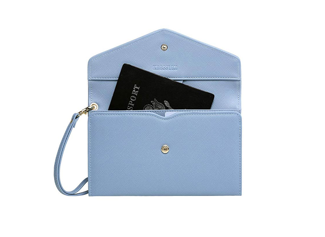Krosslon Rfid Travel Passport Wallet