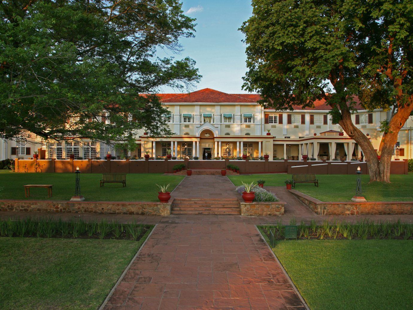 Exterior of Victoria Falls Hotel, Zimbabwe