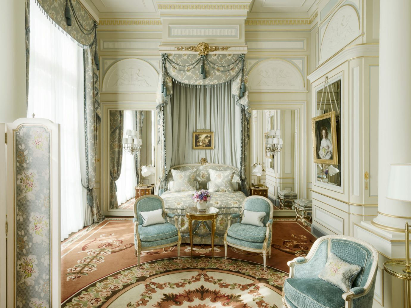BEdroom at the ritz paris