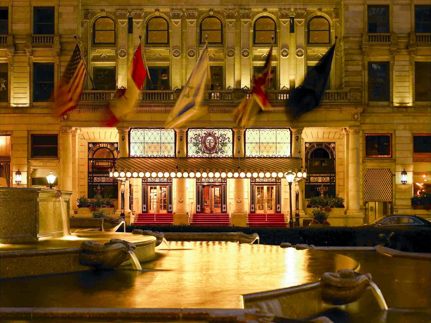 Exterior of the Plaza in New York City