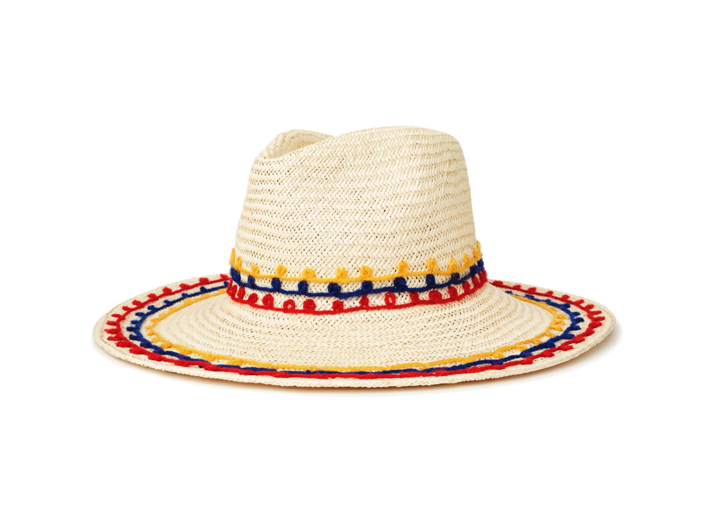 Brixton Joanna Embroidered Straw Hat