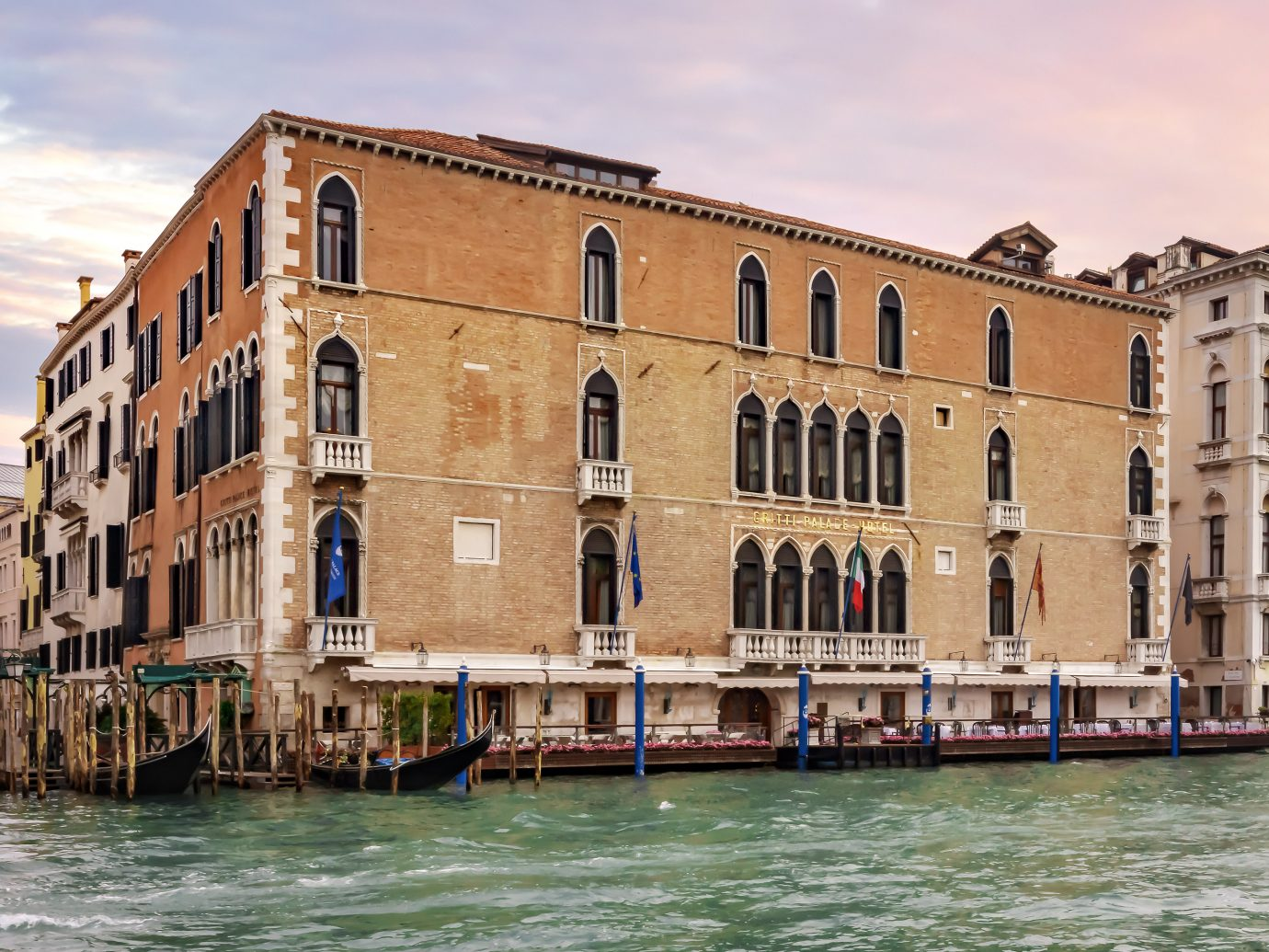 Exterior of Gritti Palace, Venice