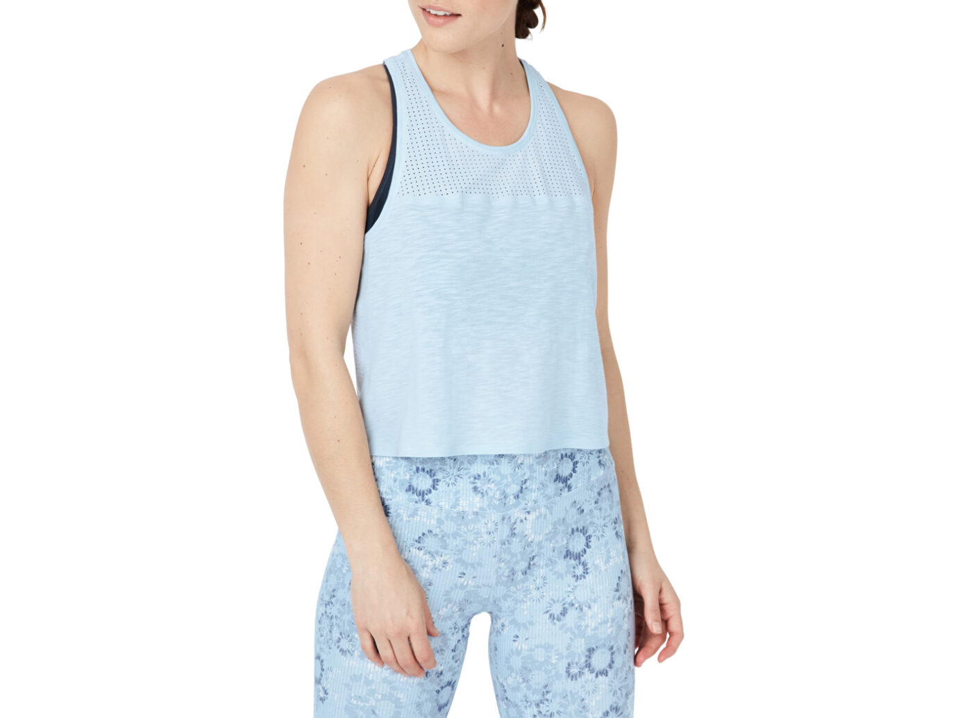 Sweaty Betty Breeze Crop Racerback Performance Tank