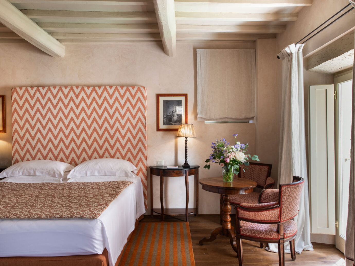 guestroom at Il Borro