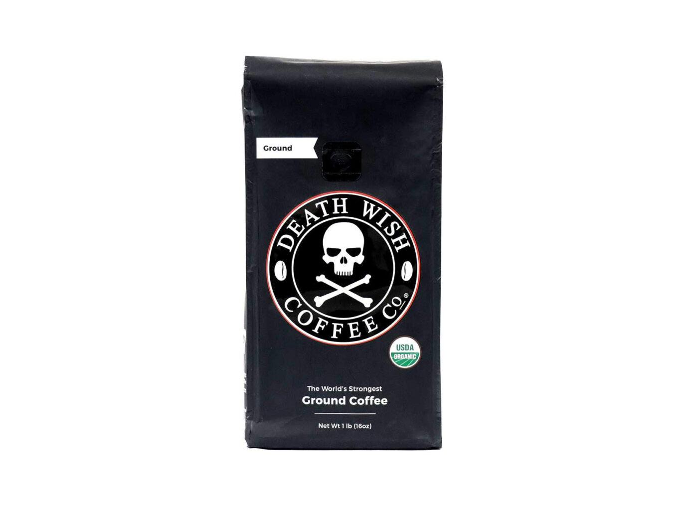 Death Wish Organic Fair Trade Ground Coffee