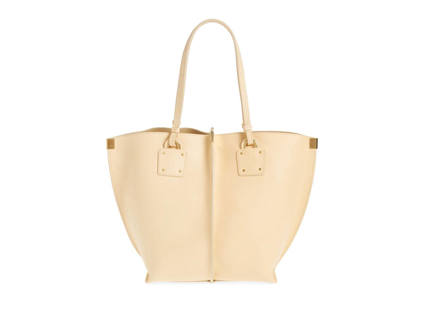 Chloé Vick Leather Tote Bag