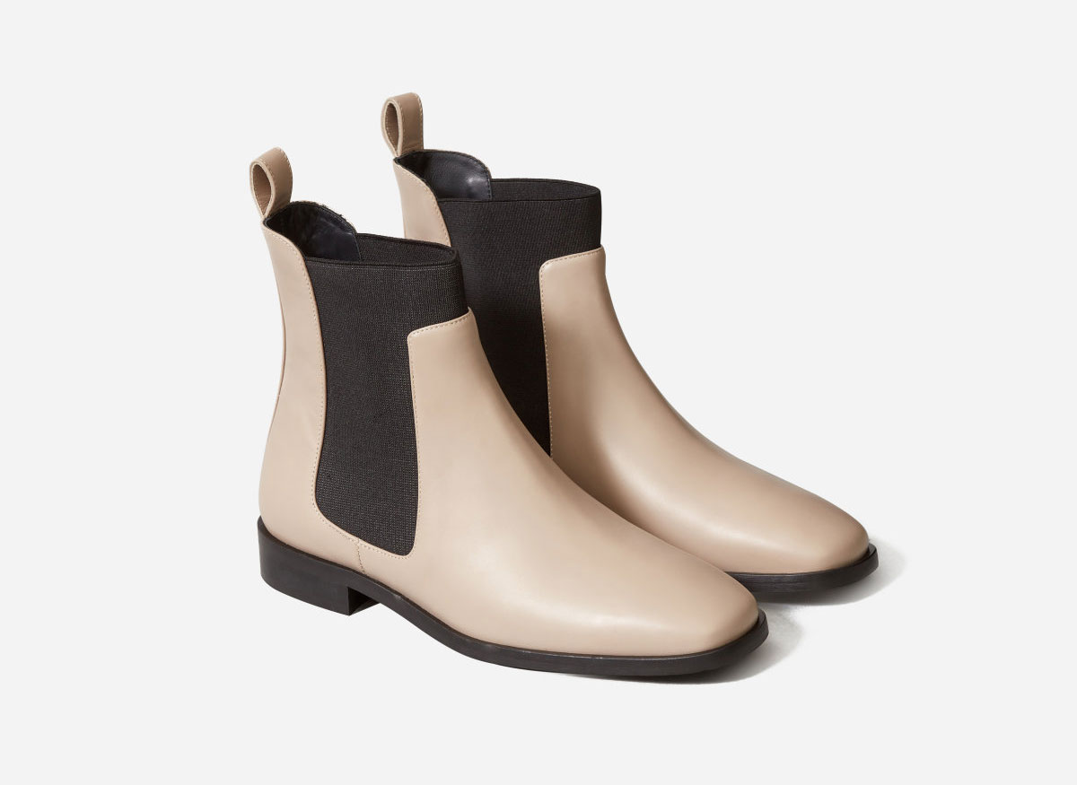 Everlane Square Toe Chelsea Boot