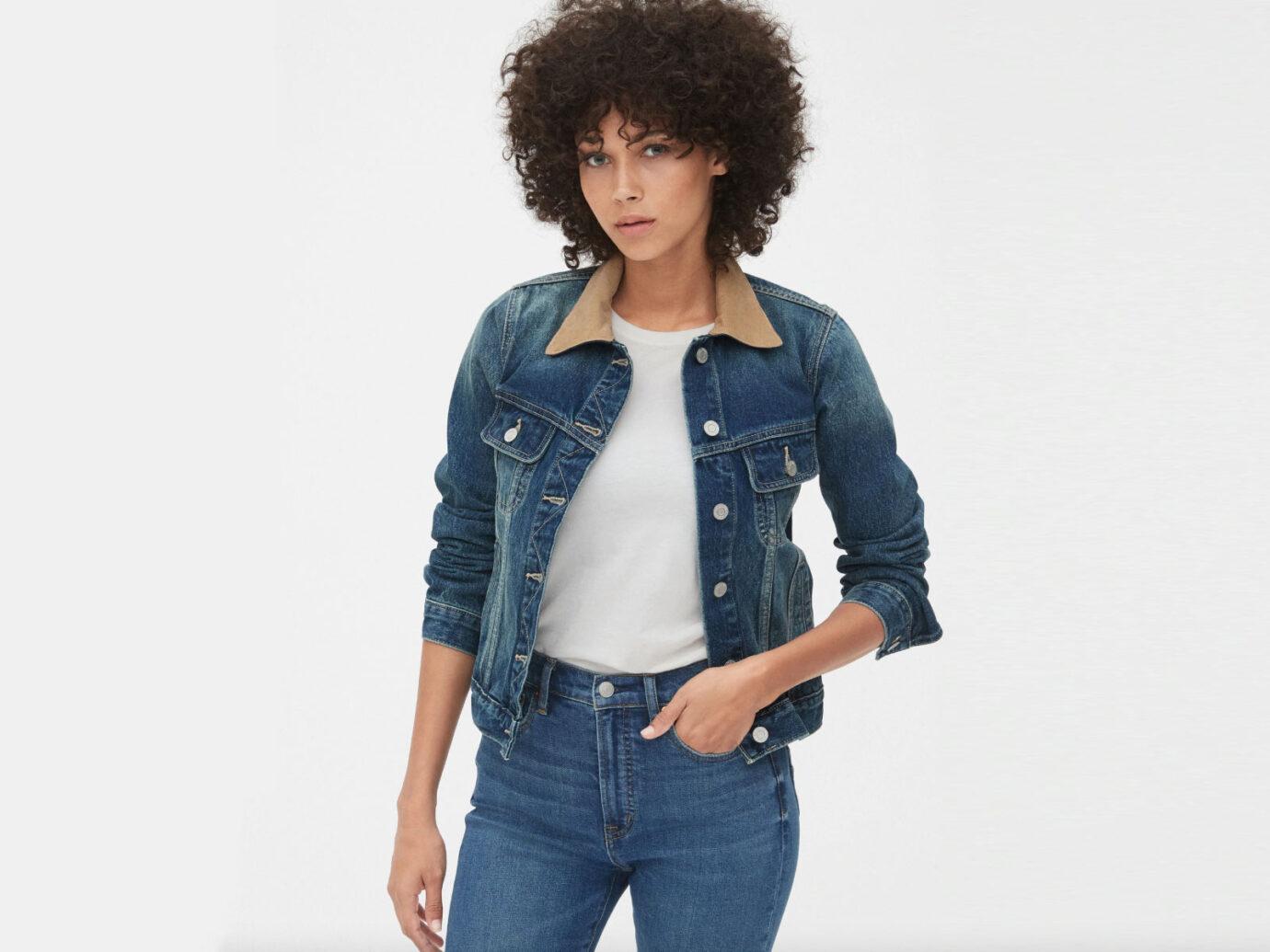 Gap 70s Pioneer Icon Denim Jacket