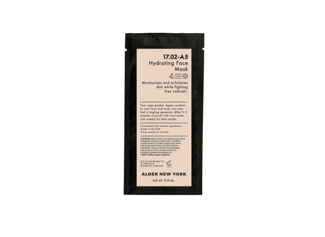 Alder New York Hydrating Facial Mask