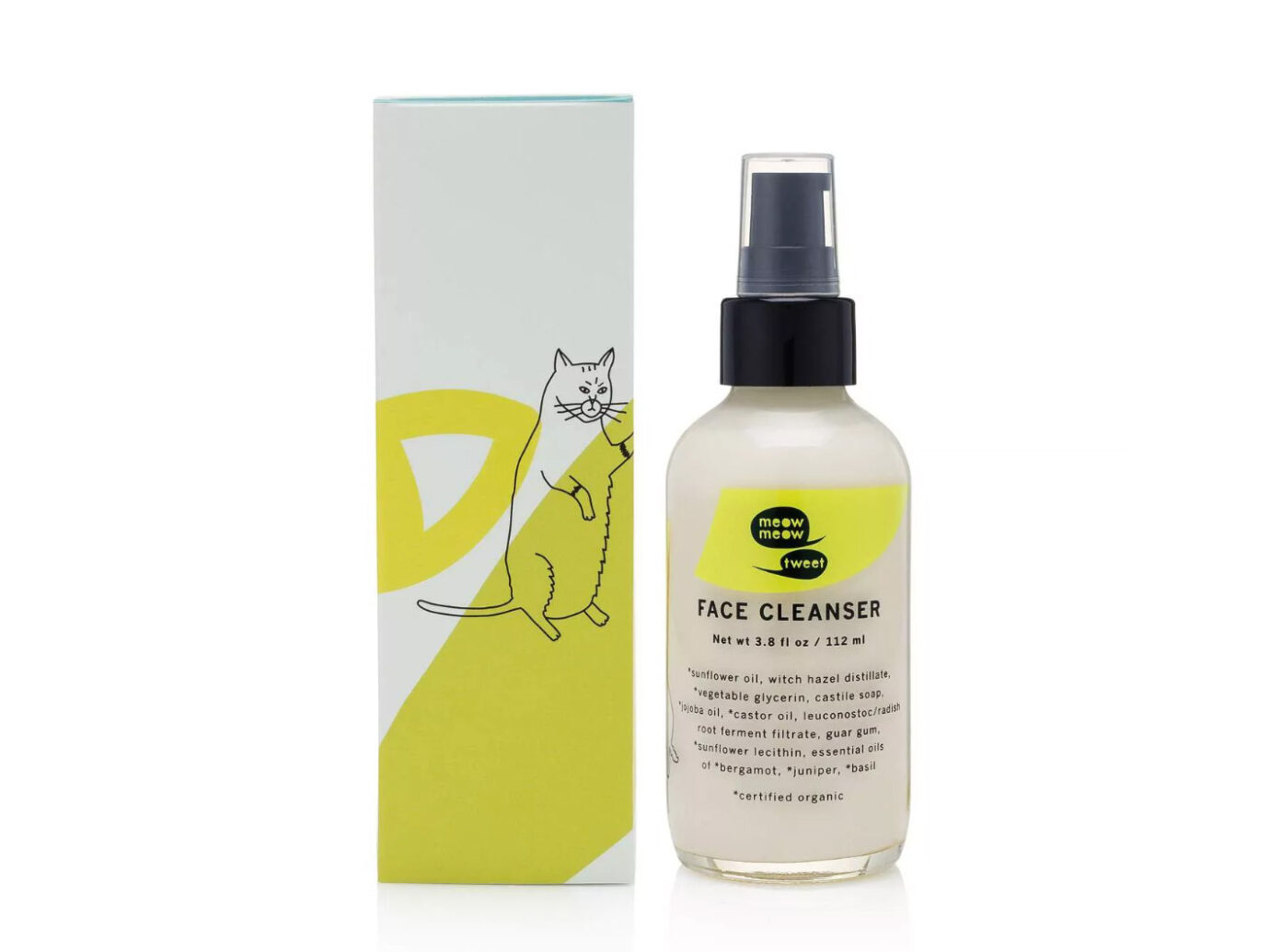 Meow Meow Tweet Deep Liquid Facial Cleanser