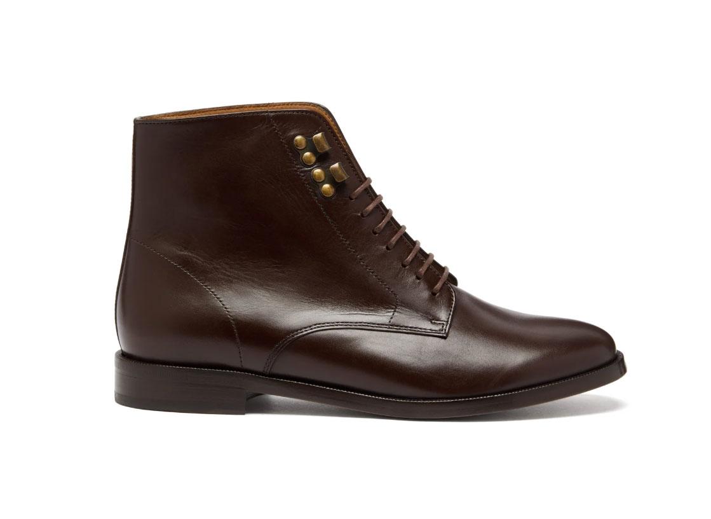 A.P.C. Frances leather derby boots
