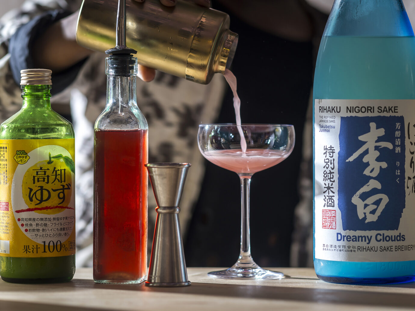cocktails from Tokyo Record Bar