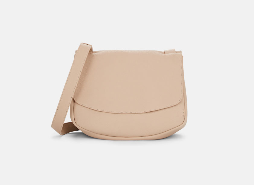 The Row Small Leather Mail Bag