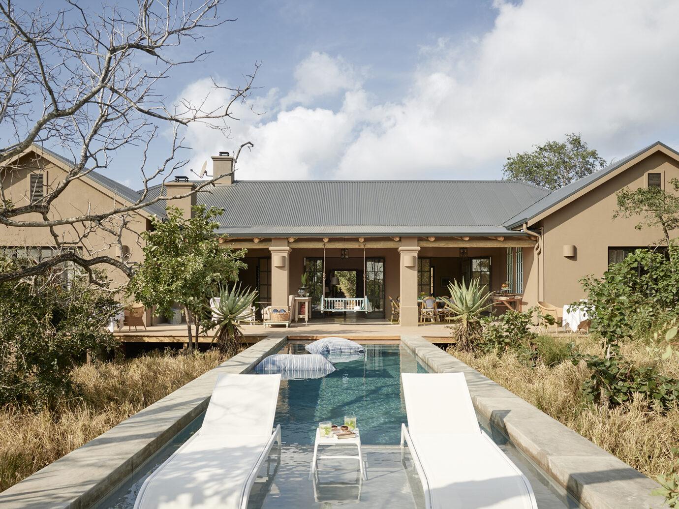 Large Farmhouse Pool at Royal Malewane