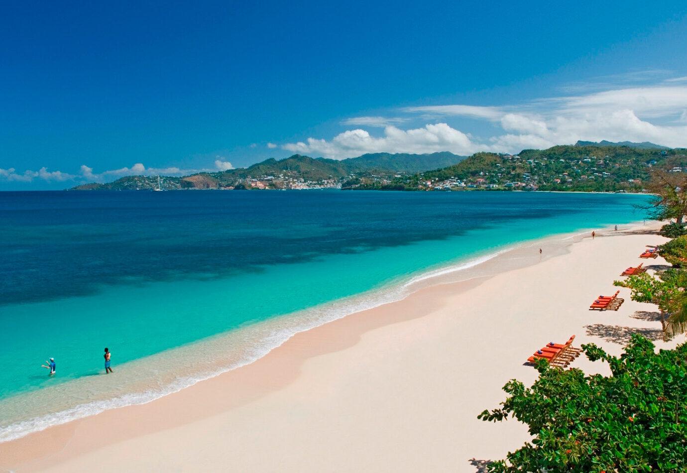 Grand Anse Beach in Grenada