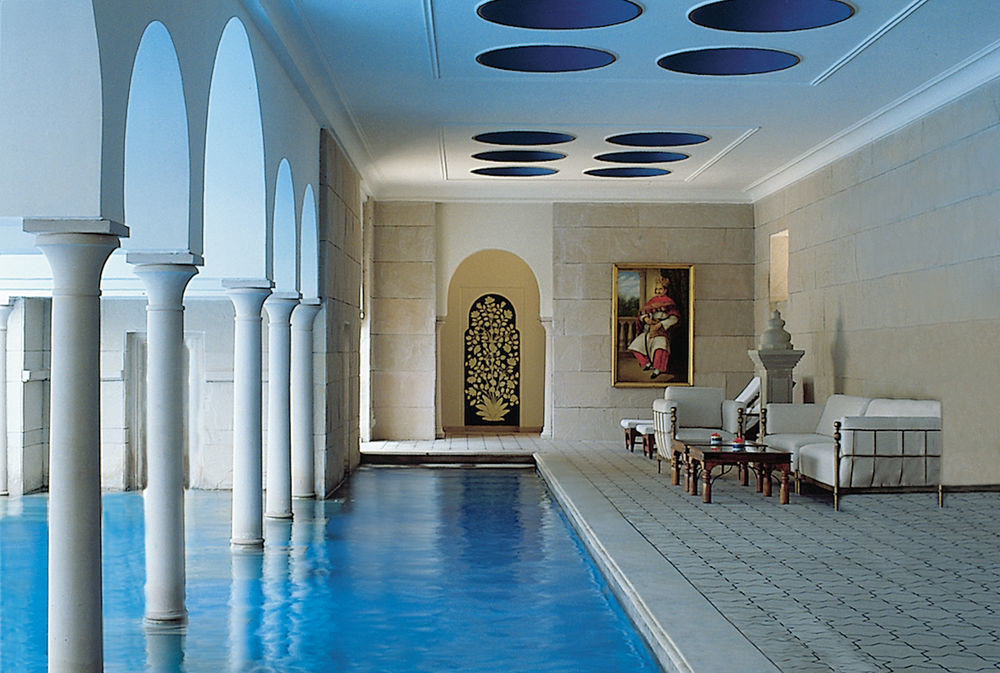 Pool at Oberoi Amarvilas, Agra