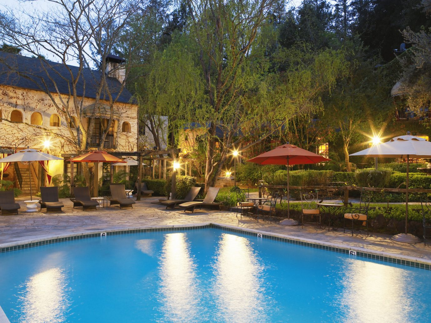 Pool at Kenwood Inn & Spa