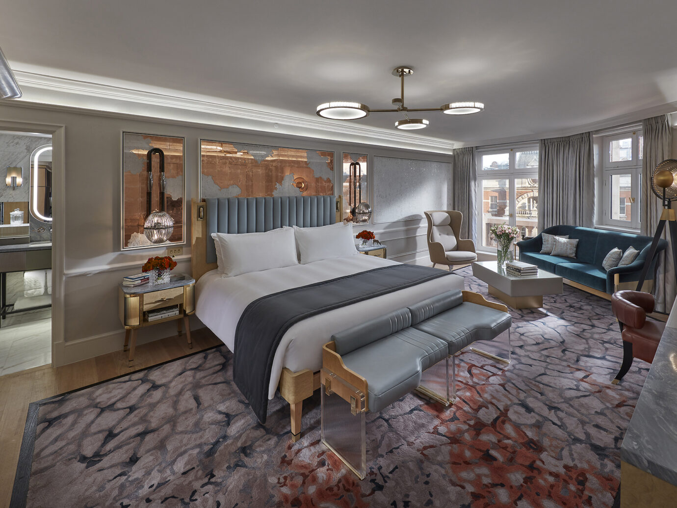 Suite at the Mandarin Oriental Hyde Park
