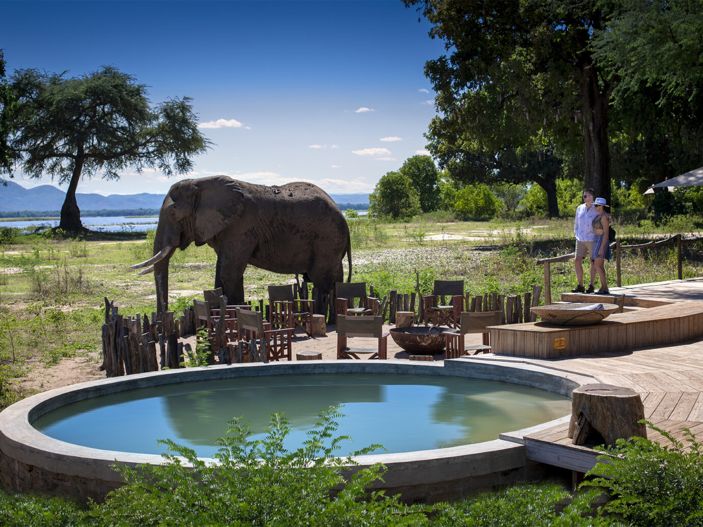 Pool at Nyamatusi Camp