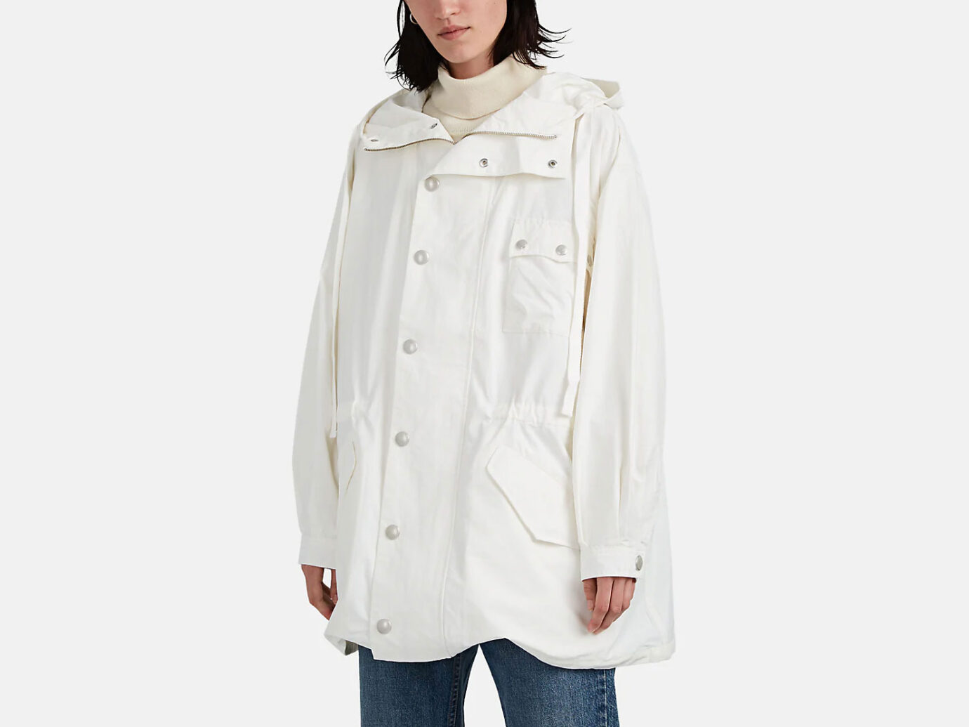 ZADIG & VOLTAIRE Hogue Cotton-Blend Ripstop Parka