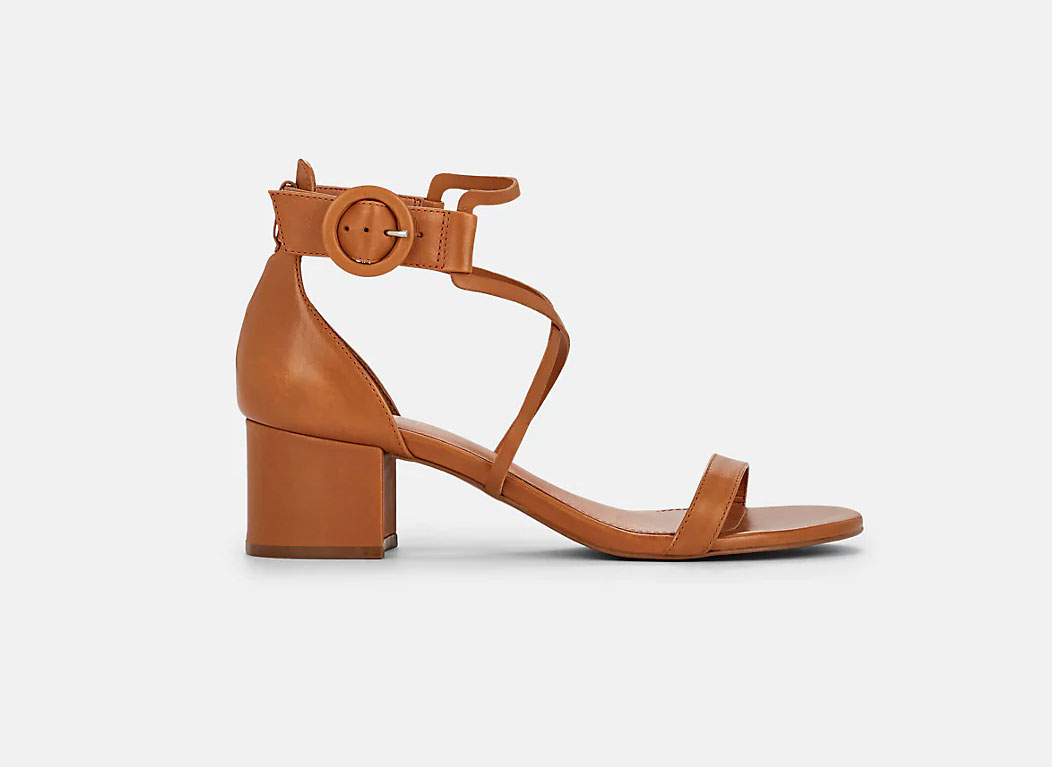 BARNEYS NEW YORK Leather Ankle-Strap Sandals