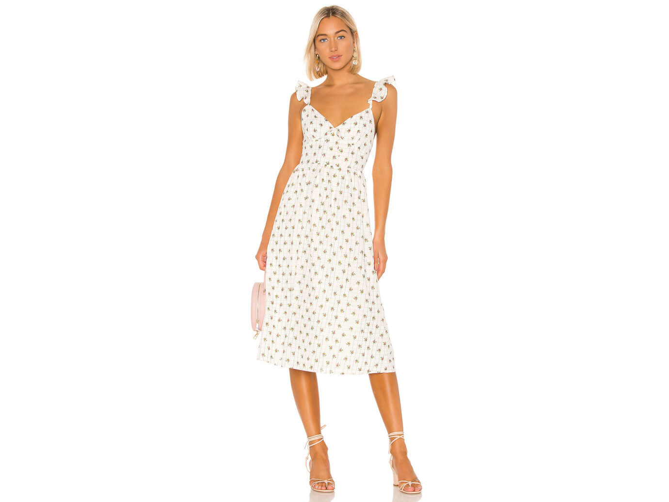 Majorelle Maura Midi Dress
