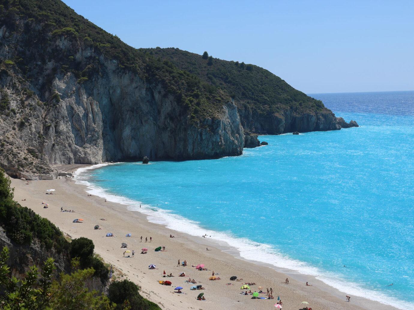Milos Beach, greece
