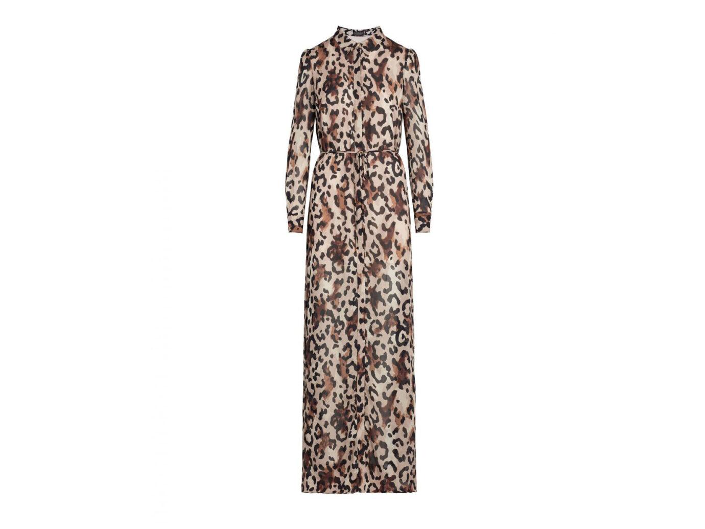 Rachel Zoe Elara Leopard-Print Maxi Dress