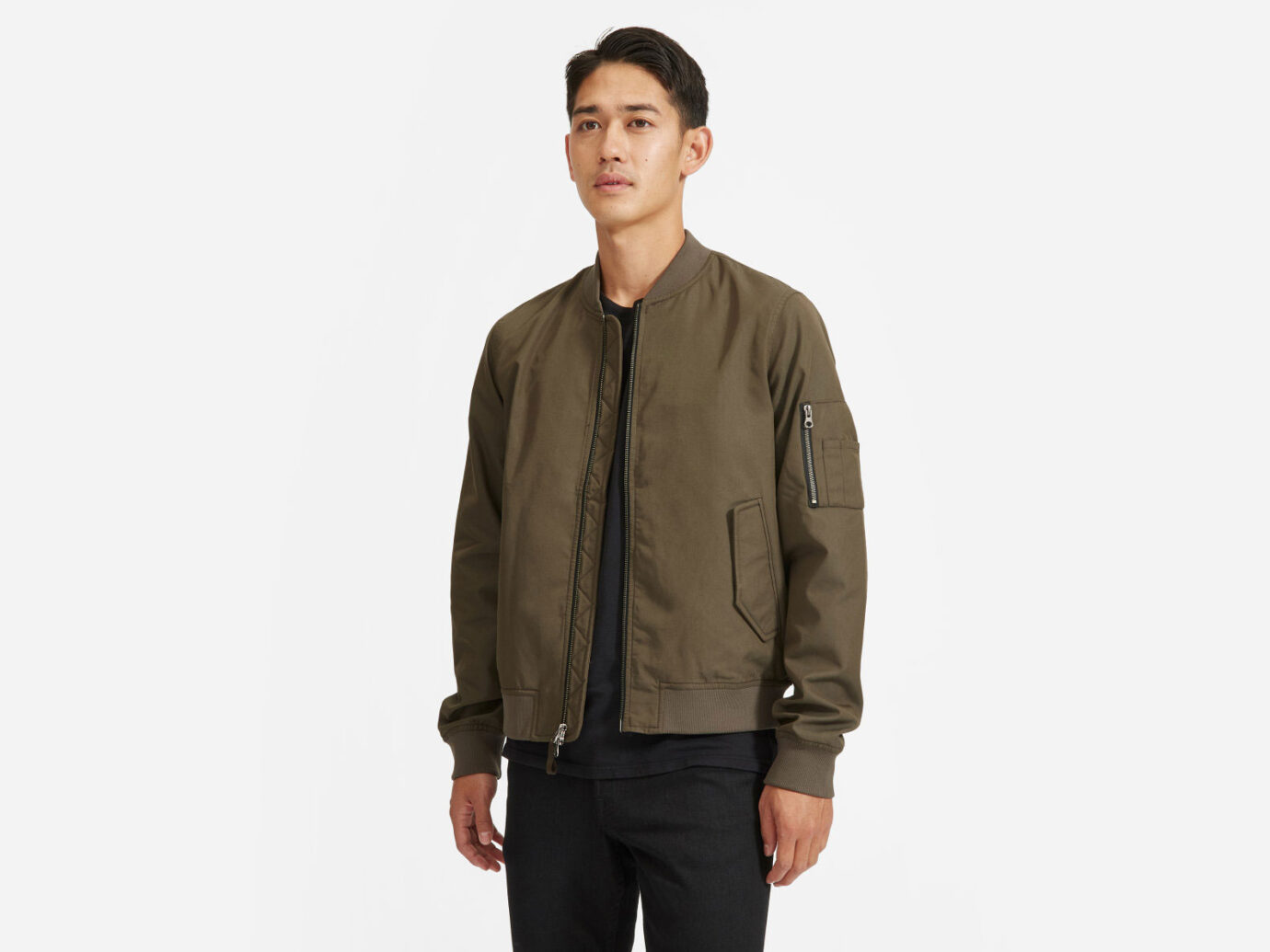 Everlane men's The Uniform Bomber Jacket
