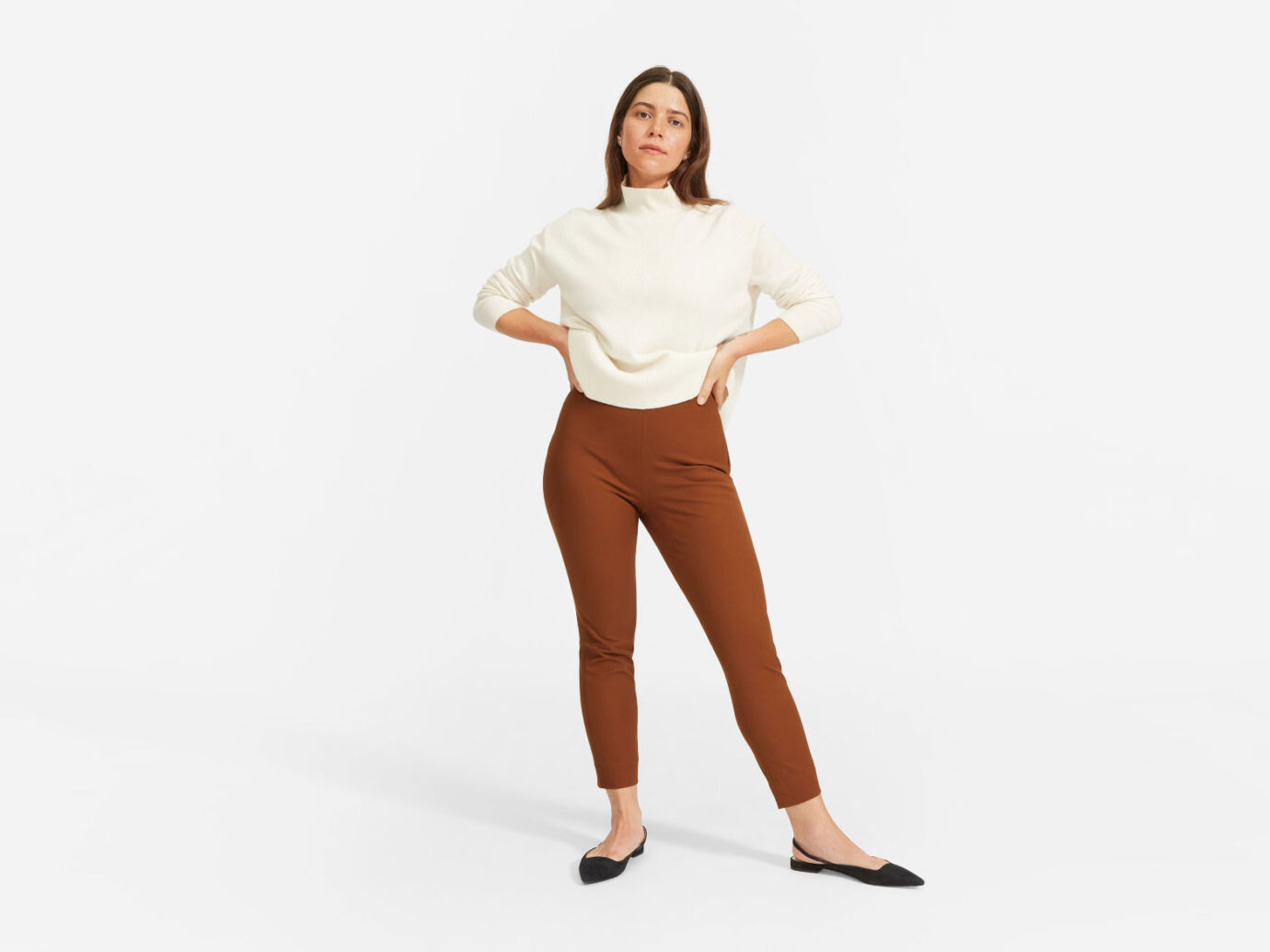 Everlane The Curvy Side-Zip Work PantEverlane The Curvy Side-Zip Work Pant
